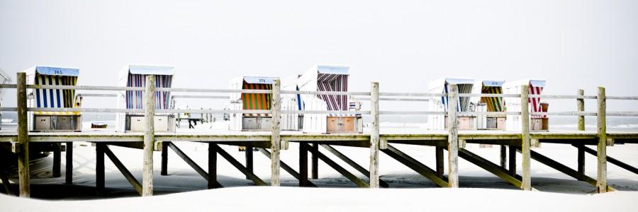 White Beach Strandkörbe #5
